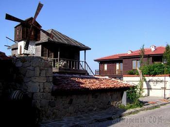 Болгарское побережье Черного моря 52. Курорт Созополь уют и красота /продолжение/