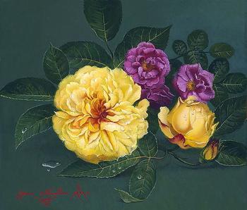 Цветы Яны Мовчан