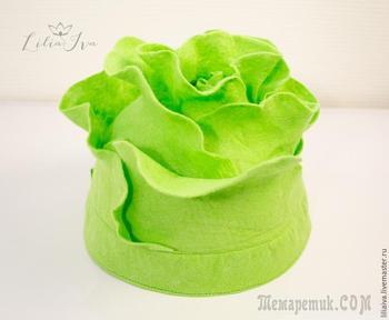 Шьем шапочку-капусту для детского капустника