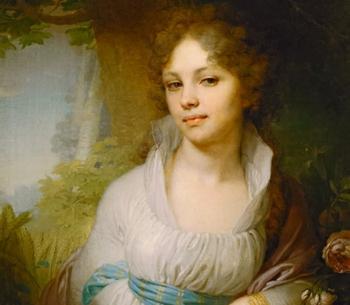 Роковые красавицы на портретах