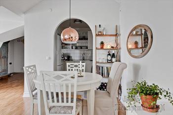Светлая квартира 70 кв.метров в Хельсингборге, Швеция
