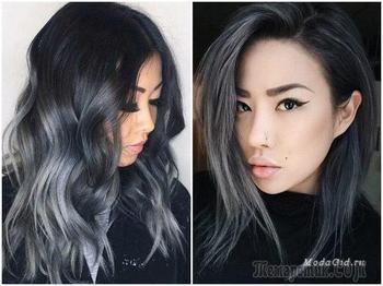 Модные цвета волос 2018: тенденции окрашивания и фото
