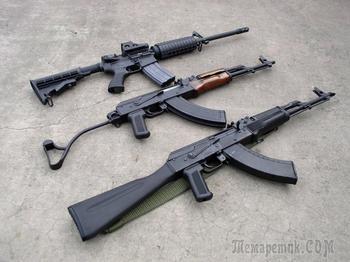 Автомат или штурмовая винтовка
