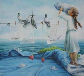 Мир иллюзий и запредельных мечтаний: волшебные картины в стиле магический реализм