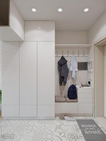 Малогабаритное жилье в новом жилом фонде. Студия для девушки-студентки 27м². Одесса