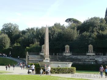 Сады и парки мира ... сады Боболи