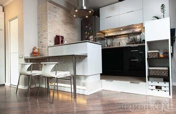 Дизайн квартиры 34 кв.м.