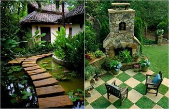 17 очаровательных идей дизайна садовых дорожек