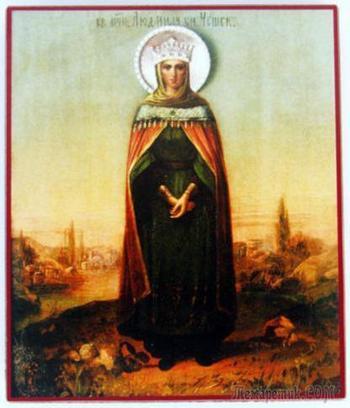 Святая Людмила - княгиня чешская
