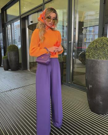 С чем носить оранжевый и выглядеть бесподобно
