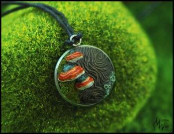 Украшения из полимерной глины, вдохновлённые любовью к лесу