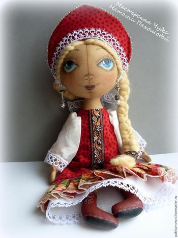Шьем кукле наряд в русском стиле