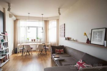 Дизайн двухкомнатной квартиры 50 кв. метров