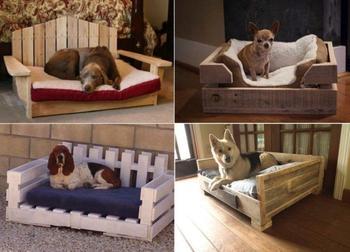 Лежанки для собак своими руками
