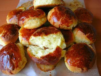 Невероятно пышные творожные булочки, которые долго не черствеют!