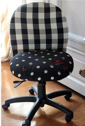 Интересная переделка старого офисного стула