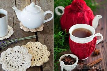 20 крутых вязаных идей для уютного чаепития