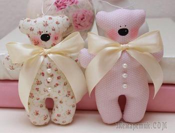 7 идей красивых мягких игрушек своими руками