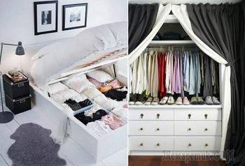 17 идей хранения одежды, которые организуют гардеробную даже в очень маленькой квартире