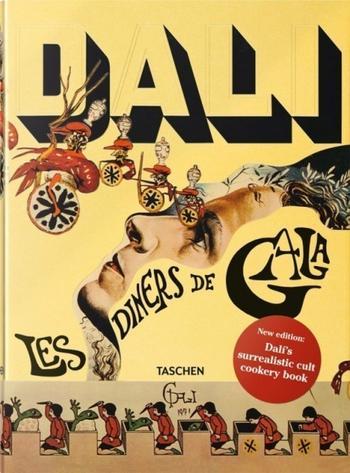 Кулинарная книга Сальвадора Дали. Иллюстрации