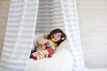 Как сшить детский игровой шатер