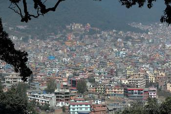 Непал. Гималаи. Трек вокруг Аннапурны 23. Лучшее. Катманду (1400) - Навал (3660)