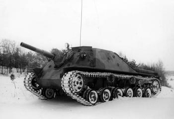 Самоходная артиллерийская установка Infanterikanonvagn 72 (Швеция)