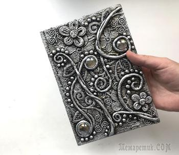 Декор блокнота своими руками