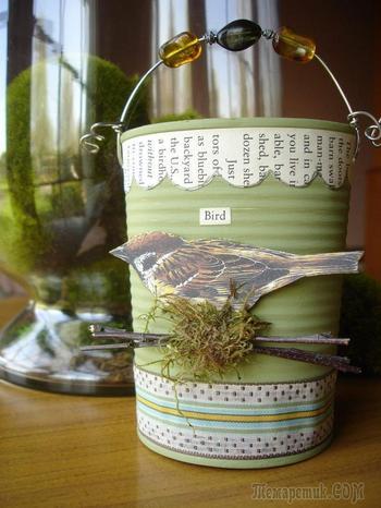 Декор банок из разных материалов и ультрамодные идеи оформления
