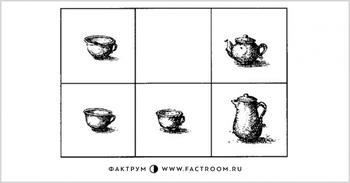 Головоломка «Чайный сервиз»