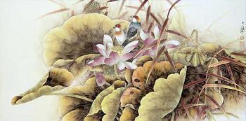 Изящная живопись китайского художника Lou Dahua