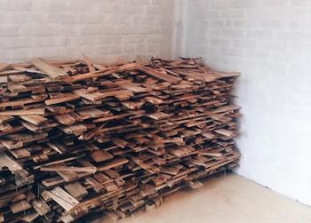 40 мешков дров для уникального проекта