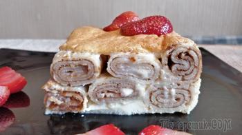 Пирог из блинов по рецепту 1861 года