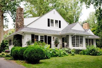 Дом семейных реликвий - классический стиль восточного побережья