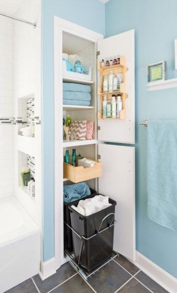 Советы для правильной организации маленькой ванной