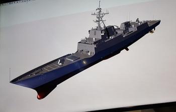 В США показали боевой корабль будущего