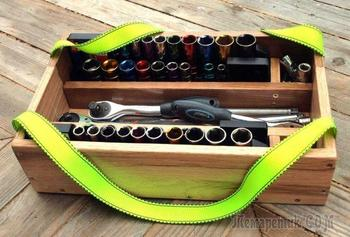 Самодельный ящик для ключей