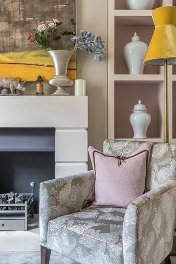Мир принтов и цвета: элегантный и яркий дом в Лондоне
