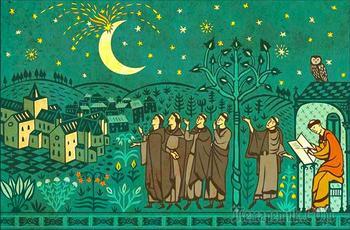 Как в Средневековье монахи наблюдали загадочный взрыв на Луне