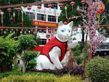 Город кошек в Малайзии