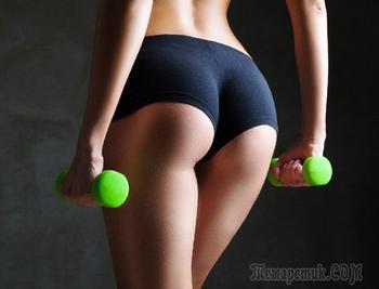 25 упражнений для ягодиц дома и видео комплекс для попы
