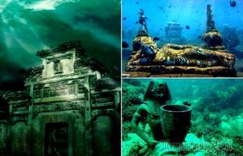 Атлантида наяву: 6 реально существующих городов, которые оказались под водой