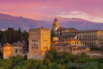 Какие секреты хранит крепость Альгамбра – наследство исламского владычества в Испании