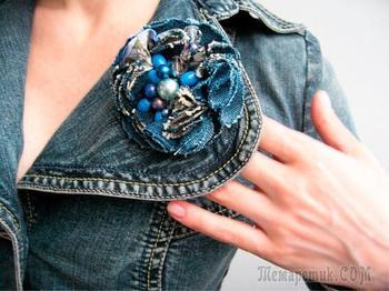 Поделки и украшения из старых джинсов своими руками