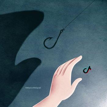 Проблемы современного общества в иллюстрациях итальянского художника Марко Мелграти