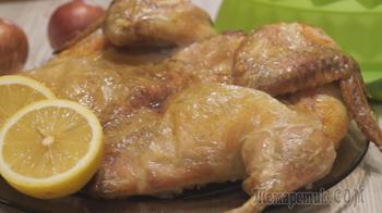 Курица на соли за 5 минут + время на запекание. Невероятно сочная, Обалденно вкусная!!