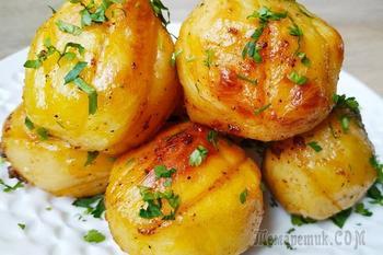 Изумительно вкусный картофель в духовке