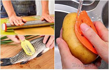 Забавные кухонные приспособления, которые помогут хозяйке быстрее справляться с ежедневными хлопотами