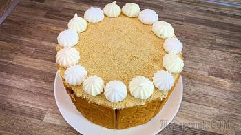 Торт из печенья и еще трех ингредиентов