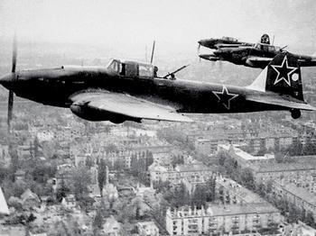 Во время войны с немцами сражался одноглазый летчик